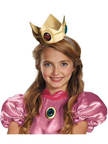 Nintendo Super Mario Brothers Princess Peach Crown and Amulet]()