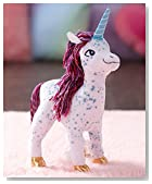 MerryMakers Uni The Unicorn Doll, 12.5-Inch