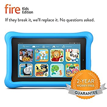 """Fire Kids Edition Tablet, 7"""" Display, 16 Gb, Blue Kid-proof Case (Previous Generation - 5th) 2"""