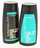 high end shampoo and conditioner - Matrix Total Results High Amplify Protein Shampoo and Conditioner Travel Size Set 1.7 Ounce Each Mini