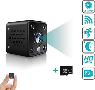 1080P Mini Wifi Wireless Hidden Spy Smart Home Security IP Camera Night Vision Y