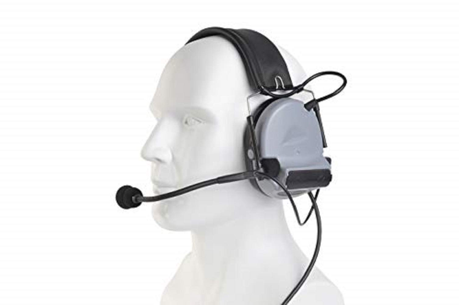 【Z-TAC Official Store】 C2 Cii CII Z-Tactical Headset Airsoft, Hunting Noise Reduction Tactical Headphones with Microphone Z041-SG by ZTAC