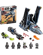 LEGO 75314 Star Wars The Bad Batch Attack Shuttle Building Toy for Kids Age 9+, Set with 5 Clones Minifigures & Gonk Droid Figure