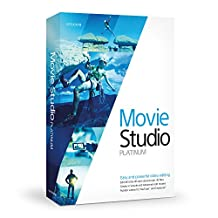 Sony Movie Studio 13 Platinum - Software de video (PC, Microsoft Windows 7 32-bit / 64-bit Windows 8 32-bit / 64-bit, IEEE-1394DV, ENG)