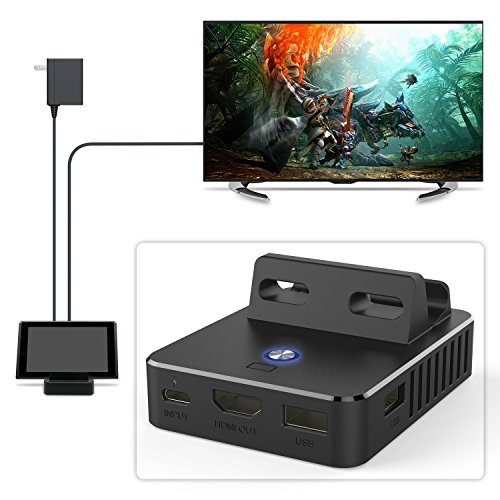 Charge Dock for Nintendo Switch, Charging Cable for Nintendo Switch (Charge Dock)