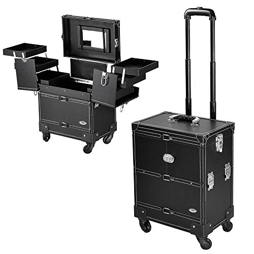 AW 14X9X17 Rolling Cosmetic Lockable