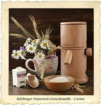 Salzburger Carina Molinillo de cereales con piedra natural: Amazon.es: Hogar