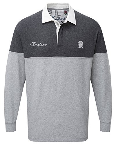 Cotton Traders Mens Long Sleeve Classic Rugby England 2XL (Jersey Slim Rugby)