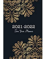 2021-2022 Two Year Planner: 2 Year Monthly Calendar Appointment Planner 6x9, 24 Months Agenda Schedule Organizer with Holiday