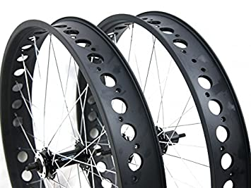 'Par Ruedas llantas + FLAP para Fat Bike – Tamaño rueda 26 x 4.00