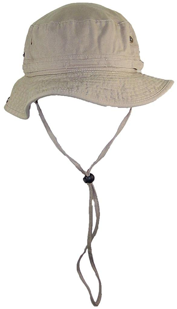 0595a99ab1c Solid Wing Floppy Bucket Summer Hat W Snap Up Sides