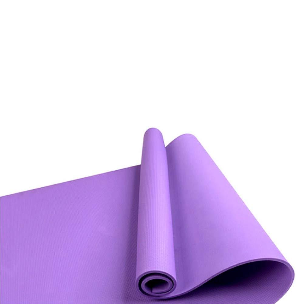 Estera de Yoga para el Piso Gruesa Antideslizante Ejercicio Antideslizante HYTGFR Gimnasio Almohadilla Fitness Plegable