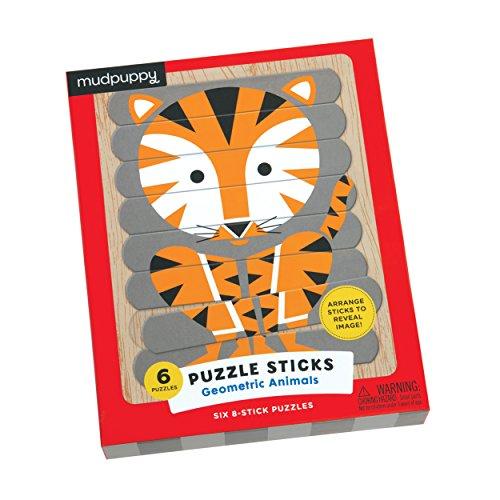 Mudpuppy Geometric Animals Puzzle Sticks product image
