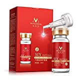 Facial Muscles Used In Expressions - Face Serum Six Peptides Repair Concentrate Rejuvenation Anti-aging Essence Anti Wrinkle, Eye Bags, Crow's Feet, Nasolabial Folds, Glycerol, Snail, Botulinum Toxin Composition, Smooth Wrinkles (5 pcs)