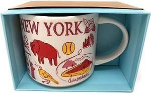 Starbucks New York Coffee Mug Been There Knickerbocker State