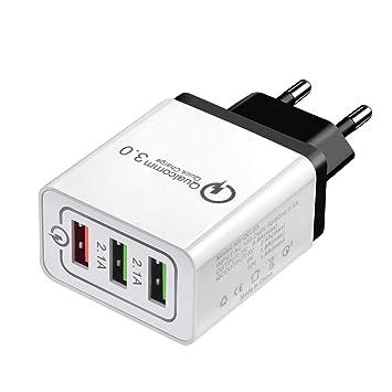 ToomLight Universal 18 W USB de Carga rápida 3.0 5V 3A para ...