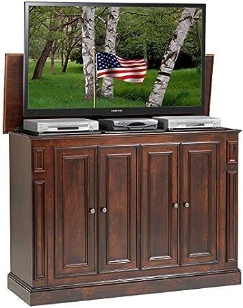 Soporte de elevación para televisor motorizado, soporte de montaje para televisor LCD, soporte de televisión motorizado, soporte de elevación eléctrica 700 mm para TV de 26