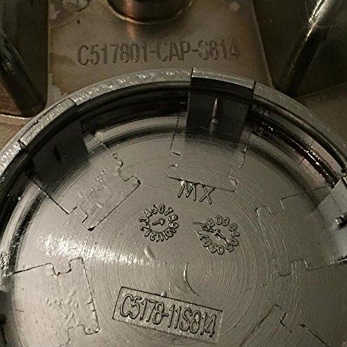 Status Wheels Trilla C517801-CAP-S814 C5178-11S814 Chrome Wheel Center Cap
