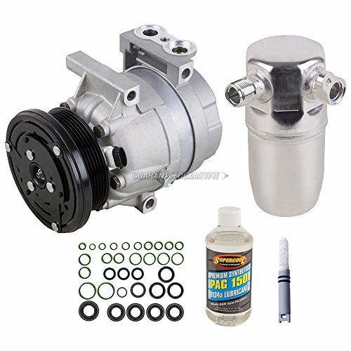 AC Compressor w/A/C Repair Kit For Buick Century & Chevy Impala - BuyAutoParts 60-81330RK NEW