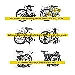 MORUDO-Custodie-per-Bicicletta-141620-Pollici-Impermeabile-Viaggio-Metro-Auto-Aereo