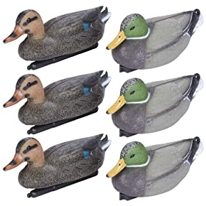 Classic Safari 6 Piece Mallard Duck Decoy Set