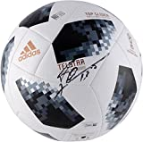 #1: Lionel Messi Argentina Autographed 2018 FIFA World Cup Telstar 18 Soccer Ball - Fanatics Authentic Certified
