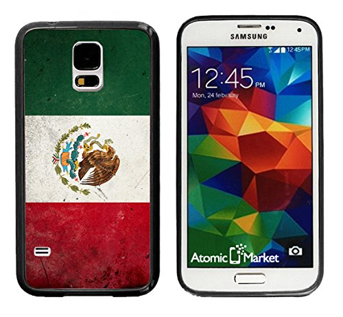 S5 Mexican Mexico Flag Grunge For Samsung Galaxy i9600 Case Cover