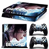 E-WOR®Ps4 Console Designer Protective Vinyl Skin Decal Cover for Sony Playstation 4 & Remote Dualshock 4 Wireless Controller Stickers TN-PS4-0517-beyond two souls by E-WOR