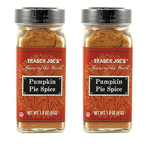 Trader Joe's Pumpkin Pie Spice - 1.8 oz. (Pack of 2) (Hand Picked Pumpkin)