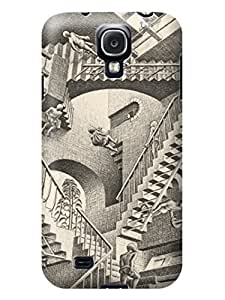 LarryToliver Customizable Escher pictures Birthday Gift samsung Galaxy s4 Hard Case Cover Protector Gift Idea #1 wangjiang maoyi