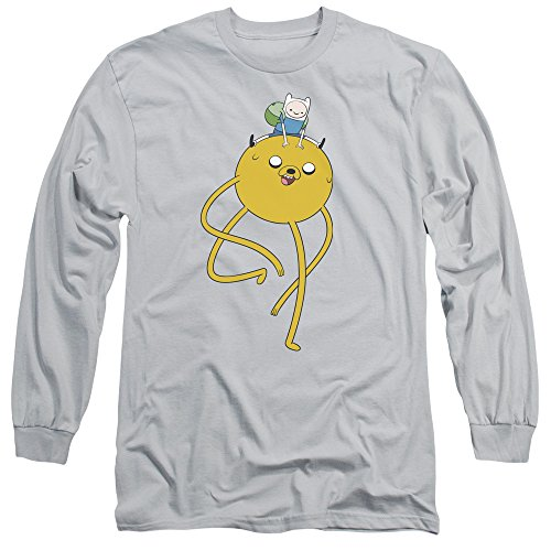 in argento da uomo Time Ride T manica Adventure Jake Shirt lunga tqvwFwz