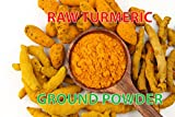 Sweet Sunnah Turmeric Root Ground (Alleppey, 5% Curcumin), Turmeric Powder - Curcumin Powder - Pesticides Free - Gluten-Free & Non-GMO 1 Pound