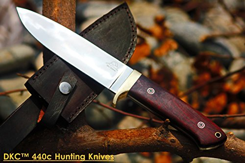 - Sale DKC-601-440c Tiger Jack Standard Stainless Steel Bowie Hunting Knife 11