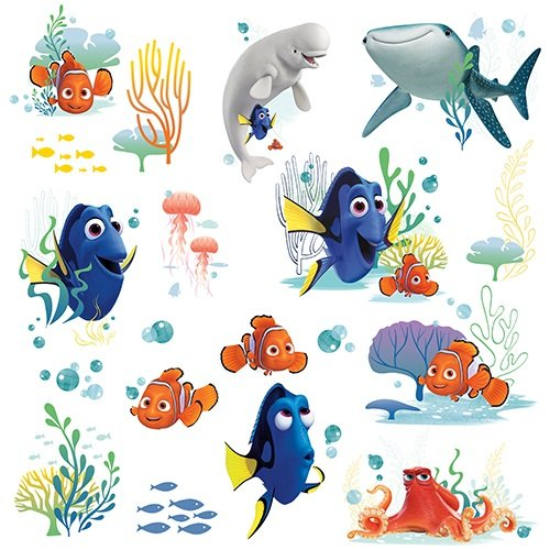 Finding Dory Peel and Stick Wall Decals by RoomMates