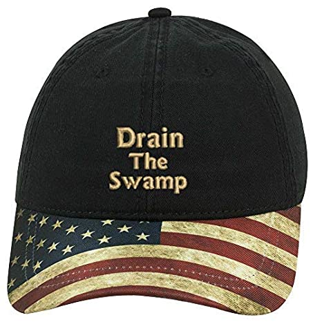 0556ab81886 Amazon.com  Sew Very Southern Trump Drain The Swamp 2018 US Flag ...
