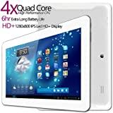 G-Tab Iota Quad Core Android Tablet PC [10.1 Inch IPS, 16GB, Wi-Fi, Bluetooth] (White), Best Gadgets