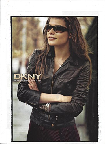 **PRINT AD** With Louise Pedersen For 2006 DKNY Sunglasses **PRINT - Dkny Sale Sunglasses