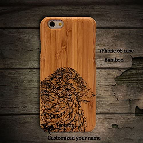 Anlye Lion Taatoo Samsung Galaxy S7 Wooden Case,Personalized Samsung Galaxy S7 Case Unique Real Handmade Samsung Sales