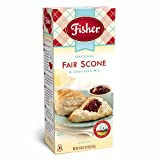 Fisher All Natural Orginial Fair Scone and Shortcake Mix, 18 Ounce Bag, Pack of 6