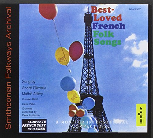 Best Loved French Folk Songs