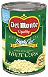 Del Monte Quality Harvest Selects Whole Kernel Sweet White Corn, 15.25 oz.