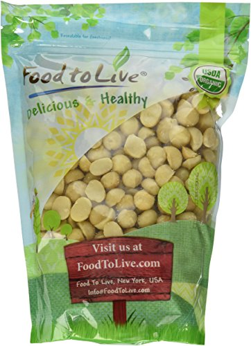 Food to Live Organic Macadamia Nuts (Raw) (2 Pounds) by Food to Live (Image #1)