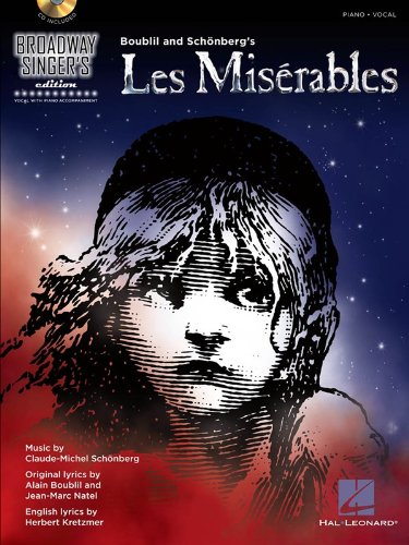 Les Miserables: Broadway Singer's Edition (Book/CD)