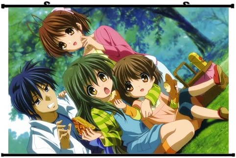 Amazon Com Clannad Anime Wall Scroll Poster Furukawa Nagisa Ibuki