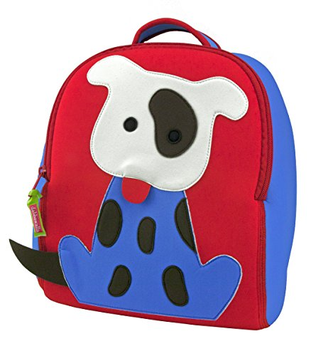 98d236583901 Dabbawalla Bags Go Fetch Dog Kids  Toddler   Preschool Backpack Red Blue  (B004DSC5C6)