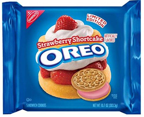 Strawberry Shortcake Oreo, Limited Edition, 10.7oz - 2 packs ()