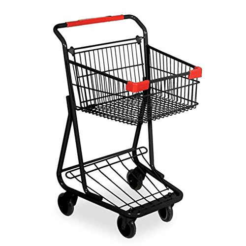 Shopping Basket Cart Retail Grocery Convenience Store Fixture Black Lot of 6 New by Bentley's Display