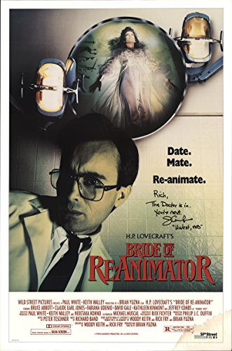 Bride of Re-Animator 1990 Authentic 27