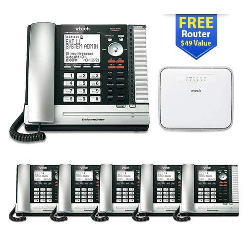 VTech UP416 6 User Office Bundle Corded Phone System UP416 + (5) UP406