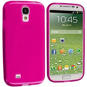 Hu Xiao Accessory Planet Hot Pink Plain TPU Rubber Skin case cover qn3Bj3fjVWR Cover Accessory for Samsung Galaxy S4